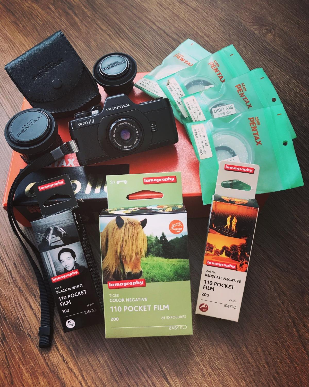 Pentax Auto 110 FilmCamera
