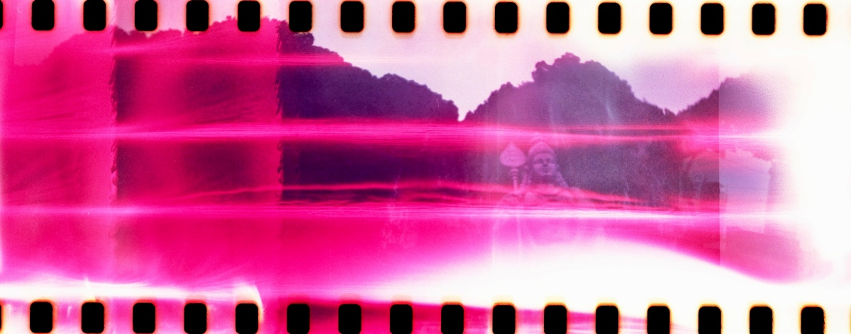 Double Exposures with my Lomography Sprocket Rocket Camera in Kuala Lumpur