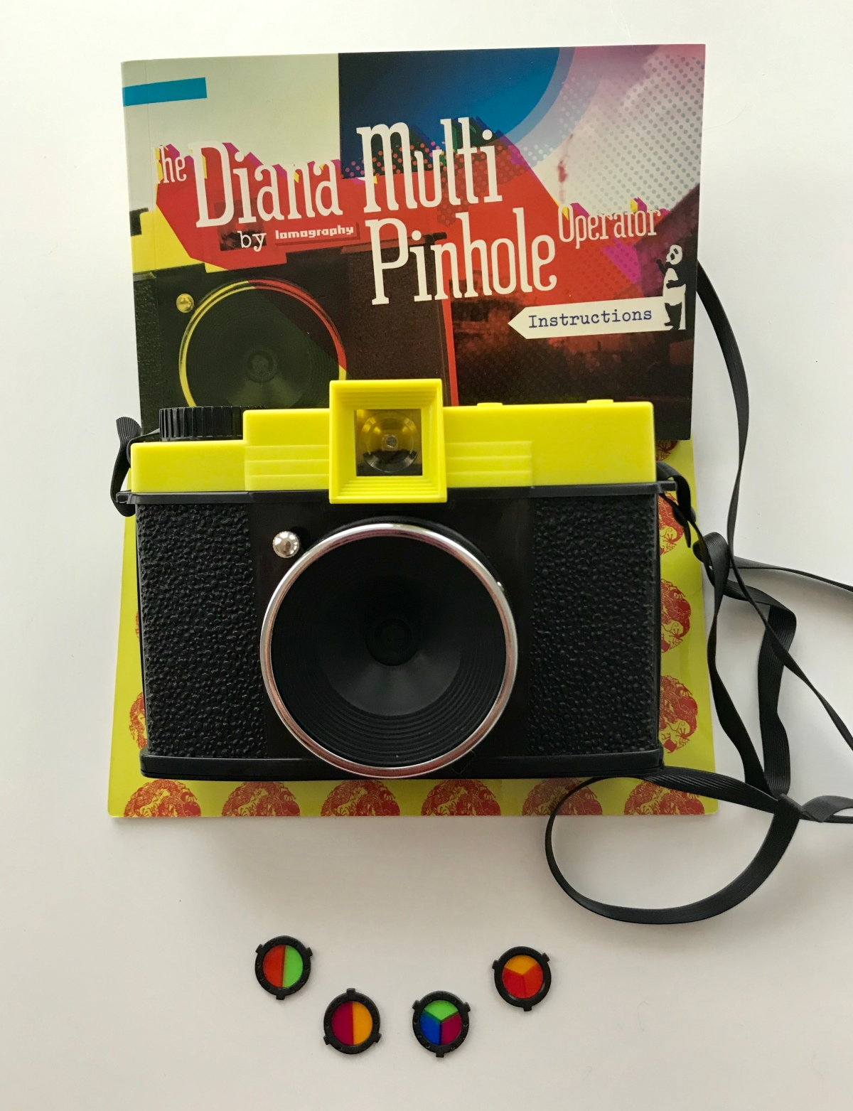 Testing out the Diana Multi Pinhole Operator by Lomography