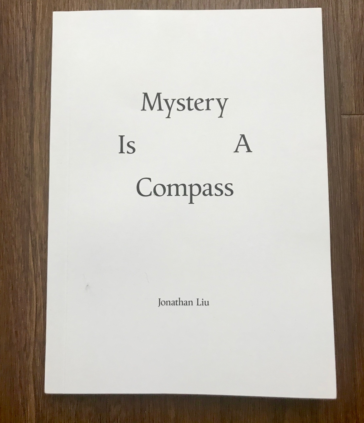 'Mystery Is A Compass' photo book by Jonathan Liu