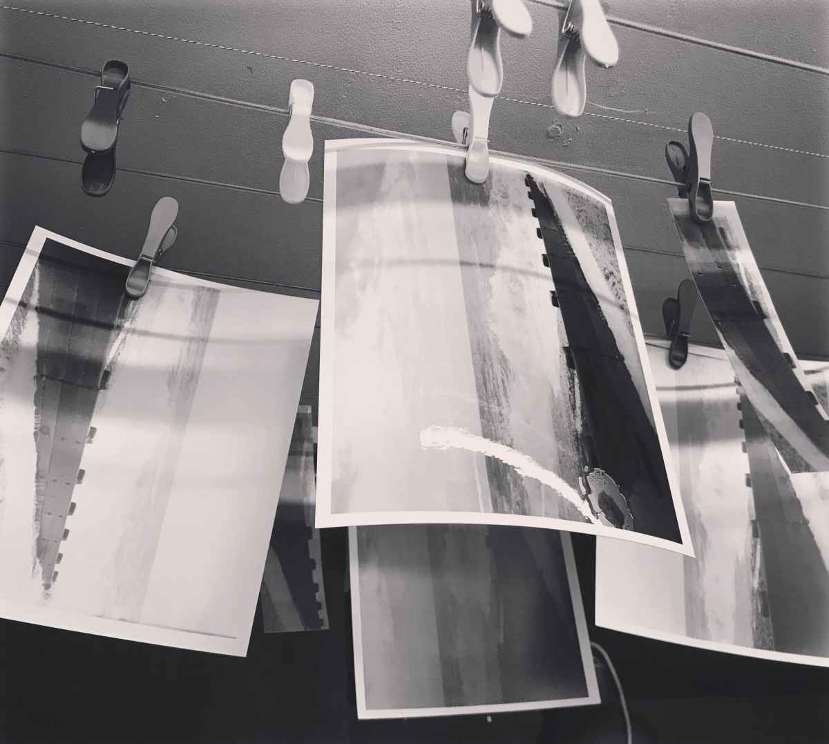Developing Prints in the Darkroom